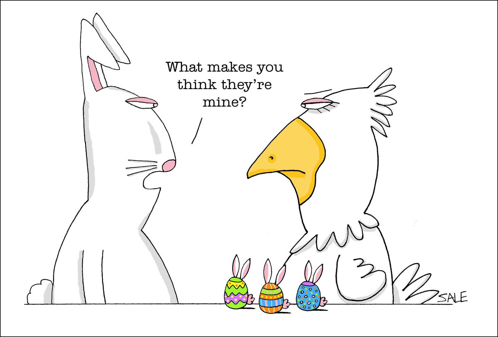 Easter Rabbit & Chicken