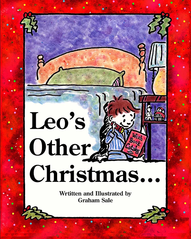 Artist Graham Sale Holiday Book Leo's Other Christmas