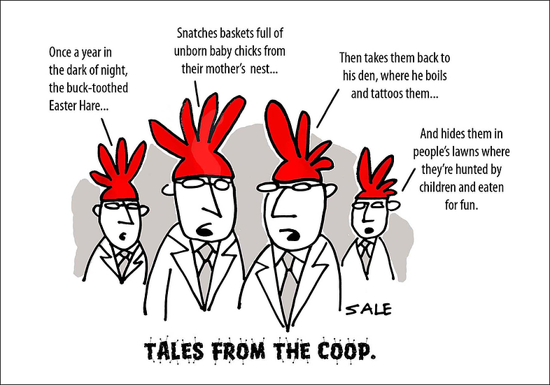 Easter: Tales From the Coop