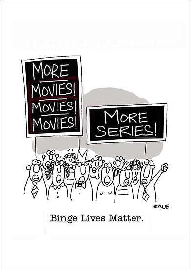 Binge Lives Matter