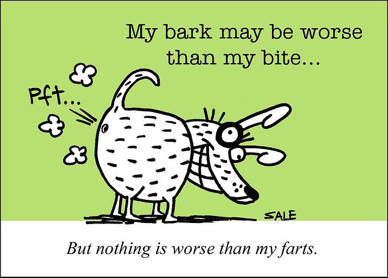 Dog Farts Graham Sale