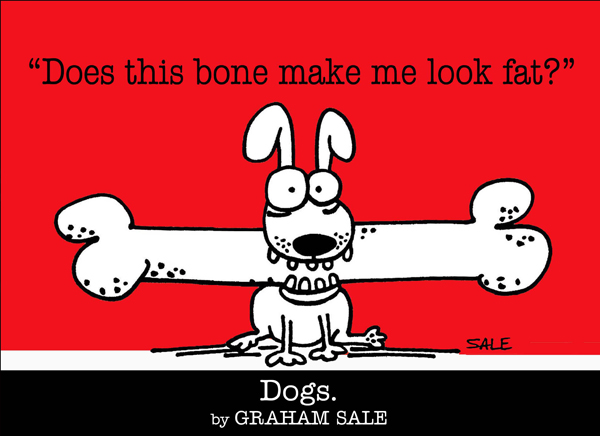 Graham Sale Dog Book Cartoons